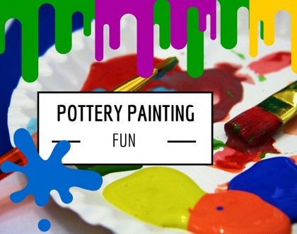 Pottery Painting Saturday 7th October 10:30am to 3pm at the cafe