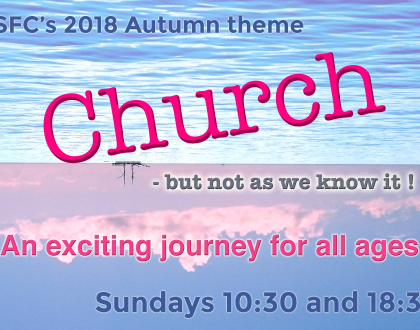 Church but not as you know it! Every Sunday 10:30am & 6:30pm