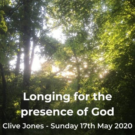 Longing for the presence of God
