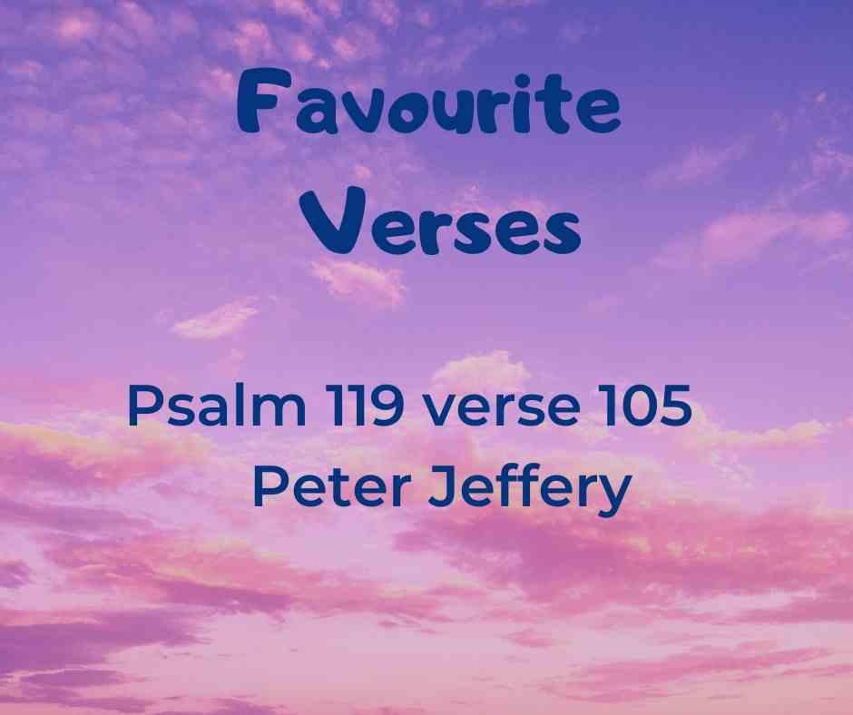 Favourite Verses - Peter Jeffery
