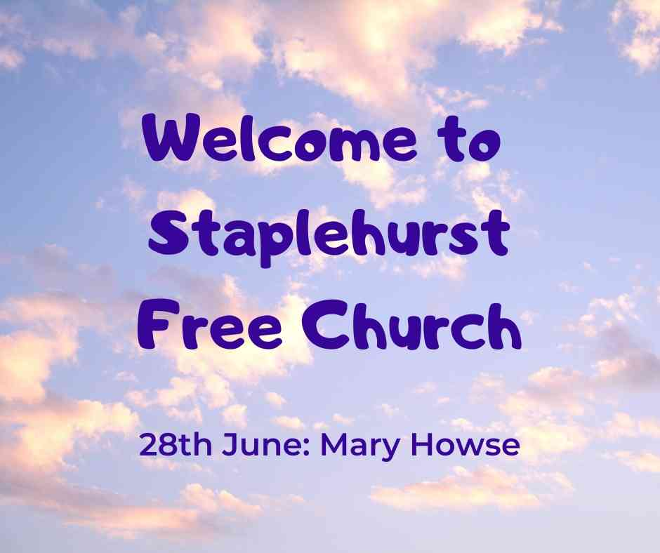 Welcome to SFC Sunday 28th June
