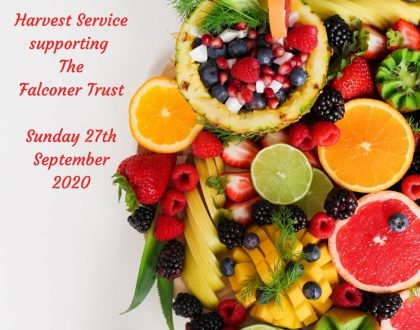 Harvest Service 27th September