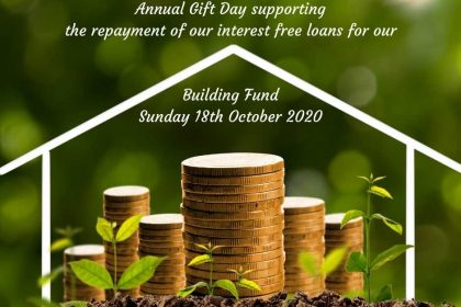 Sunday 18th October 10:30am Annual Gift Day