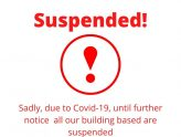 Suspended! All activities in the building at SFC until further notice