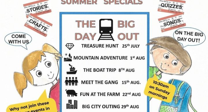 Summer Special Series The Big Day Out starting 25th July